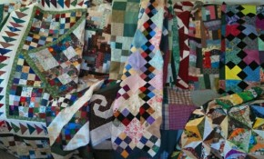 A wonderful selection of community quilts made by our members.