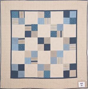Kitset quilts: 1st Debbie Jones 'Feathers'