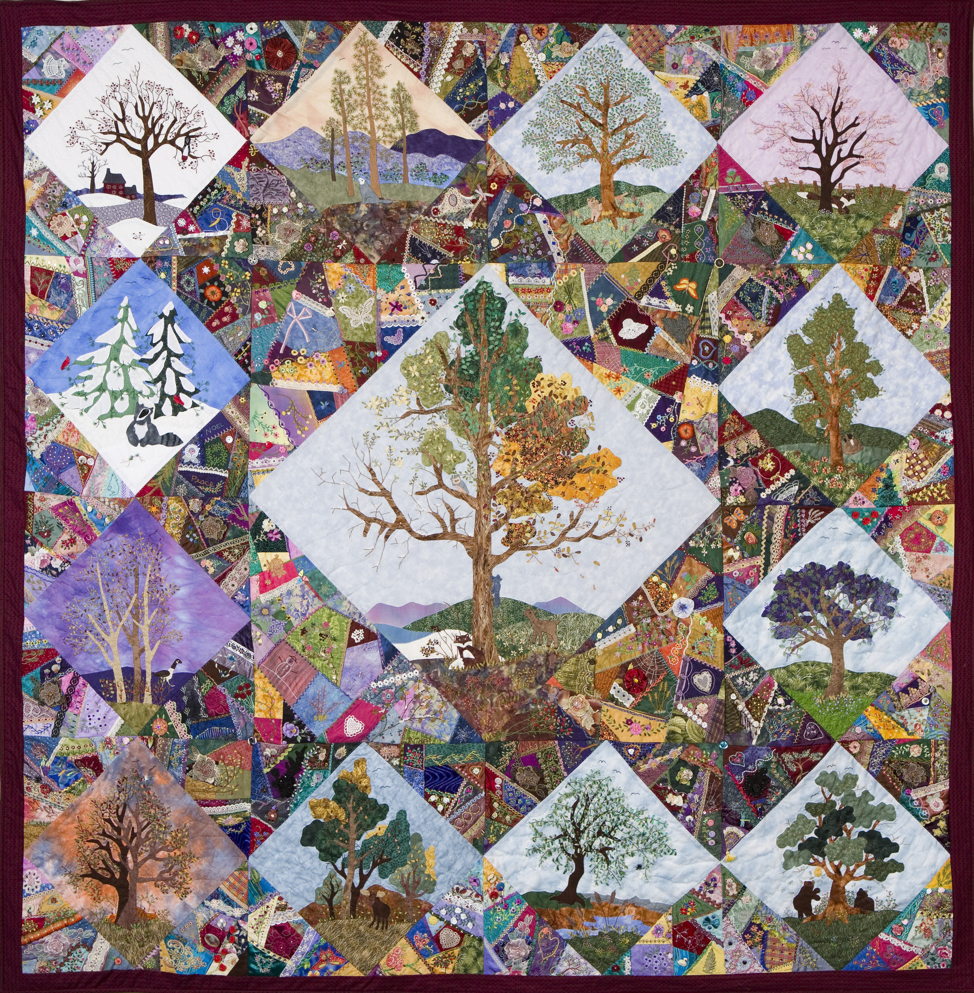Quilt Guild Newsletter Ideas : TimesAndSeasons - Auckland Quilt Guild Inc