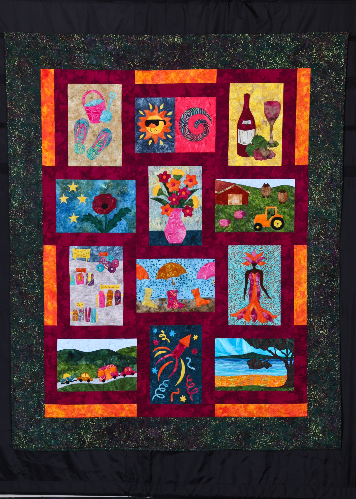 Quilt Guild Newsletter Ideas : 204 - Auckland Quilt Guild Inc