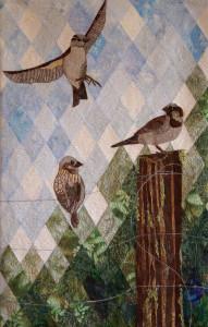 Jo Hollings 'Bird on a Wire'