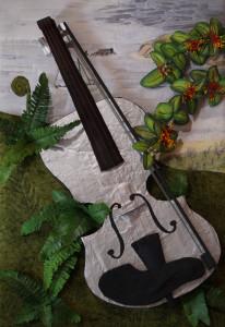 Val Williams 'The Magic Violin at Tolaga Bay'