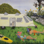 Freedom Camping by Val Williams